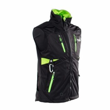 2051 46272 350x350 - Arrak Acadia Softshell vest, Lady, svart/lime