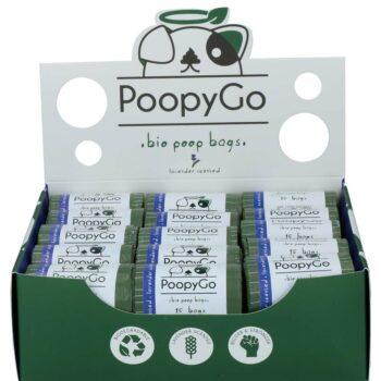 2051 52089 350x350 - PoopyGo biobags m lavendel, 15 poser