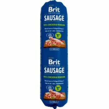 2051 52531 350x350 - Brit pølse kylling/vilt 800 gr