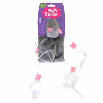2051 42651 350x350 - Dogman mus med fjær m catnip