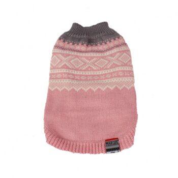 2051 52484 350x350 - Mariusgenser i ull, rosa/hvit/blågrå