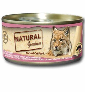 2051 42934 350x378 - Natural Greatness Tuna fillet & Pawns våtfôr, 70 gr