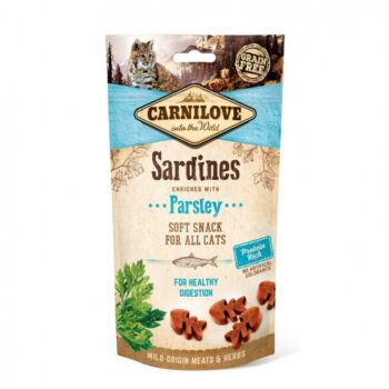 2051 52395 350x350 - Carnilove Cat Semi Moist Snack Sardine, 50 gr