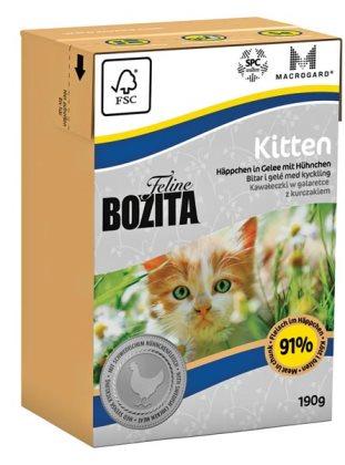 2051 26850 - Bozita Feline Tetra Kitten 190 g