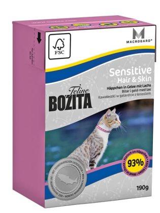 2051 26851 - Bozita Feline Tetra Hair & Skin 190 g