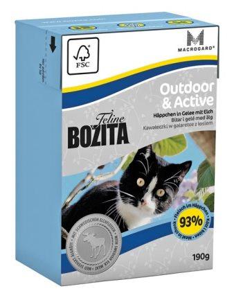 2051 26853 - Bozita Feline Tetra Outdoor & Active 190 g