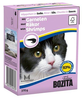 2051 26925 - Bozita Katt Tetra Bitar i sås med Räkor 370 g