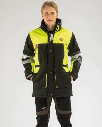2051 27800 350x435 - Arrak Original jacket High Vis, Yellow/Black, Unisex