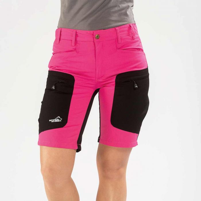 2051 38673 - Arrak Active stretch shorts rosa, str 40