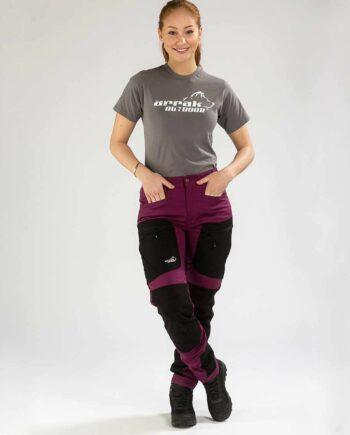 2051 41620 350x435 - Arrak Active Stretch Pants Lady, Fuchsia NEW!