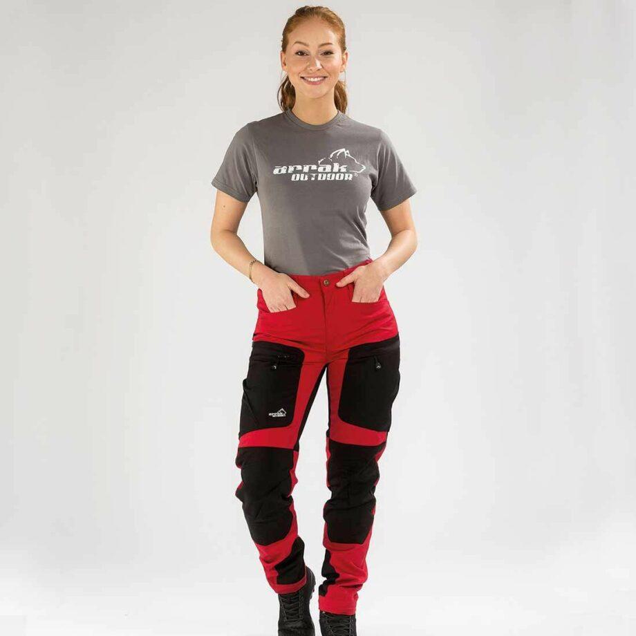 2051 41621 920x920 - Arrak Active Stretch Pants Lady, Rød