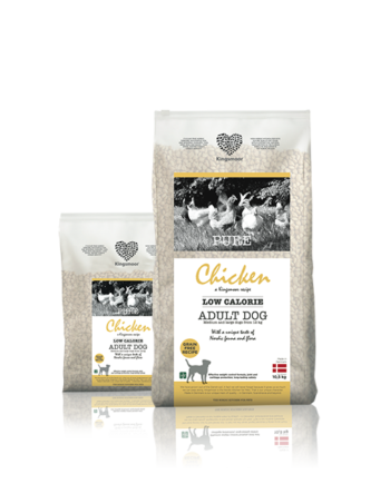 2051 42708 350x435 - Kingsmoor Adult Low Calorie Chicken M/L breed 10,5 kg