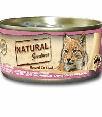 2051 42934 350x400 - Natural Greatness Tuna fillet & Pawns våtfôr, 70 gr