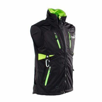 2051 46272 350x350 - Arrak Acadia Softshell vest, Lady, svart/lime