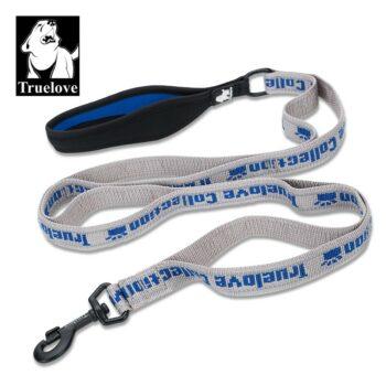 2051 46422 350x350 - Truelove Truelove leiebånd 140 cm x 20 mm, royal blå/grå