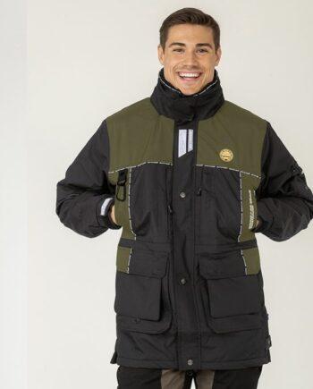 2051 47527 350x435 - Arrak Original Jacket, Black/Olive