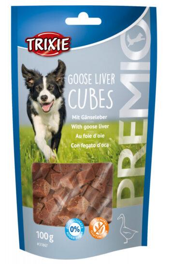 2051 52131 350x544 - Trixie Premio Goose Liver Cubes, 100 gr