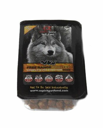 2051 52468 350x435 - Alpha spirit, fjærkre complete food for dogs, 200 gr