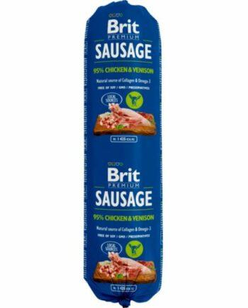 2051 52531 350x435 - Brit pølse kylling/vilt 800 gr