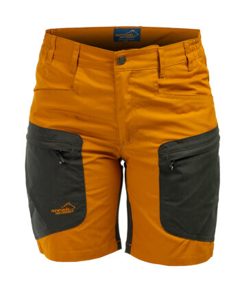 2051 58144 350x435 - Arrak Active Stretch Shorts, dame gull